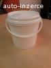 Plastové kbelíky 5L s víčkem